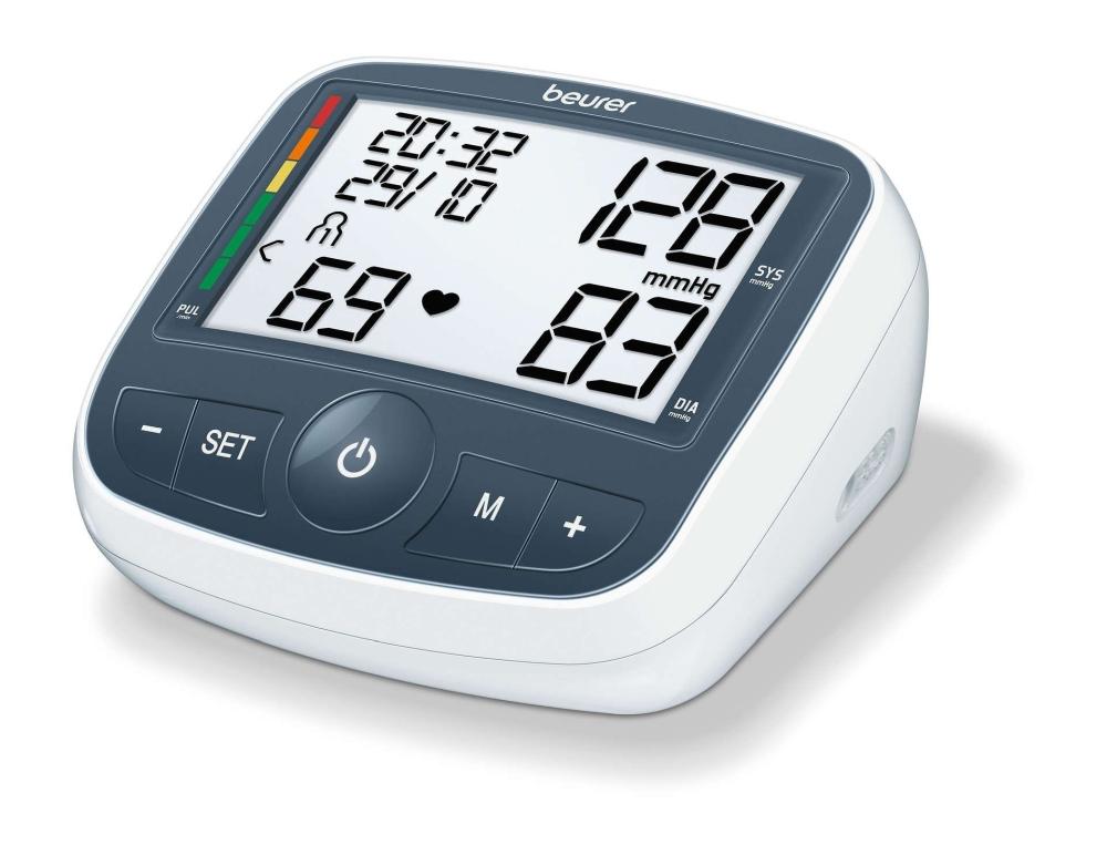 Beurer BM 40 Upper arm blood monitor; risk indicator..