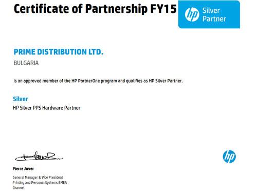HP Silver Parner