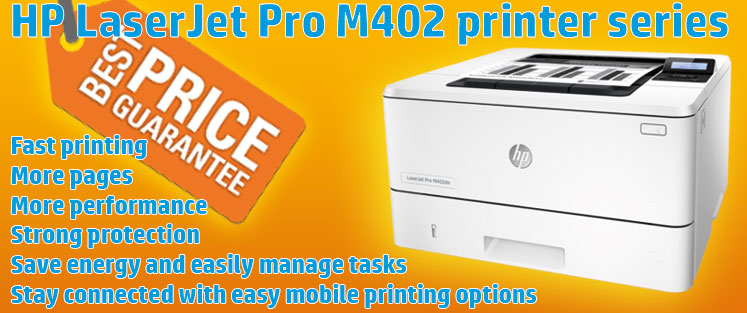 HP LaserJet Pro M402 series