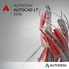 AutoCAD LT 2016 Commercial New SLM Annual Desktop Subscription with Basic Support