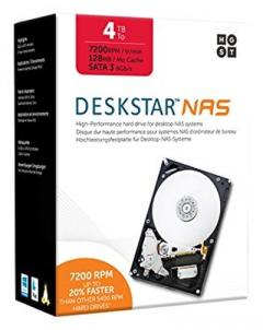 "Hitachi Deskstar NAS 4 TB  3.5"" internal"