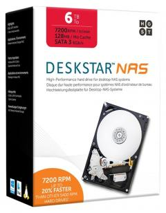 "Hitachi Deskstar NAS 6 TB  3.5"" internal"