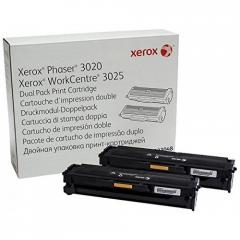 Xerox Phaser 3020 / WorkCentre 3025 Dual Pack Print Cartridge