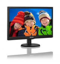 "Philips 20"" Slim LED 1600x900 HD 16:9 5ms 10 000 000:1 VGA"