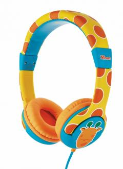 TRUST Spila Kids Headphone - giraffe