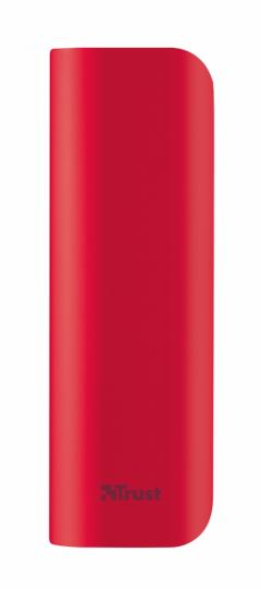 TRUST Primo Power Bank 2200 Portable Charger - red