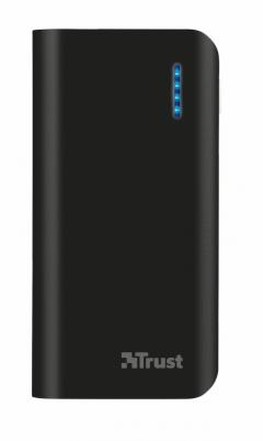 TRUST Primo Power Bank 4400 Portable Charger - black