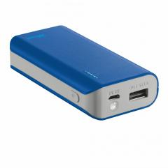 TRUST Primo Power Bank 4400 Portable Charger - blue