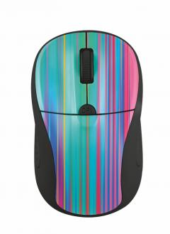 TRUST Primo Wireless Mouse - black rainbow
