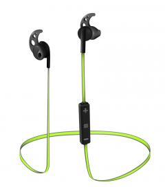 TRUST Sila Bluetooth Wireless Earphones - black/lime