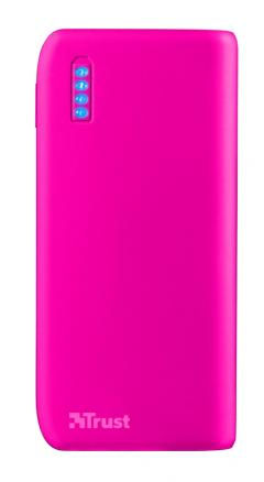 TRUST Primo Power Bank 4400 Portable Charger - Pink