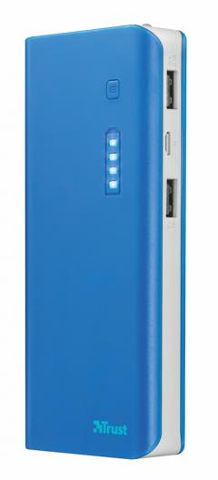 TRUST Primo Power Bank 10000 - blue
