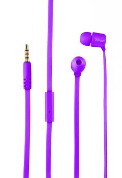 TRUST Duga In-Ear Headphones - purple