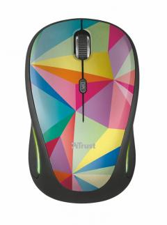 TRUST Yvi FX Wireless Mouse - geometrics