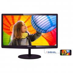 Philips 21.5 LED monitor 1920x1080 FullHD 16:9 2ms Smart Response 250cd/m2 20 000 000:1