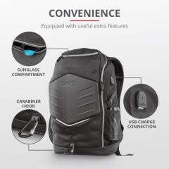 TRUST GXT 1255 Outlaw 15.6'' Gaming Backpack- black