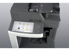 Mono Laser Multifunctional Lexmark MX810dme - 4in1; Duplex; A4; 1200 x 1200 dpi; 2400 IQ; 52 ppm;