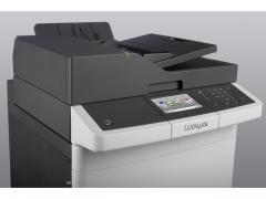 Color Laser Multifunctional Lexmark CX410e - 4in1;A4; 1200 x 1200 dpi; 4800 CQ;30 ppm; 512 MB; RADF;