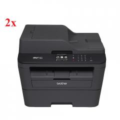 2x Brother MFC-L2720DW Laser Multifunctional + Free Brother TN-2310 Toner Cartridge Standard