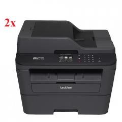2x Brother MFC-L2740DW Laser Multifunctional + Free Brother TN-2320 Toner Cartridge High Yield