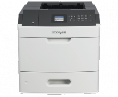 Mono Laser Printer Lexmark MS711dn - Duplex; A4; 1200 Image Quality ; 52 ppm; 512 MB; capacity: 650