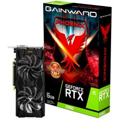 Gainward Video Card RTX 2060 PHOENIX GS 6GB 192bit GDDR6 DVI HDMI DP