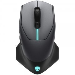 Alienware 610M Wired / Wireless Gaming Mouse - AW610M (Lunar Light)