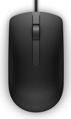 Dell MS116 Optical Mouse Black Retail