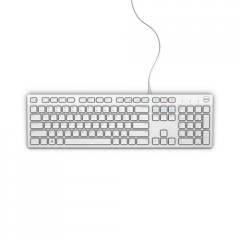 Dell KB216 Wired Multimedia Keyboard White