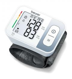 Beurer BC 28 Wrist blood pressure monitor; risk indicator; arrhythmia detection; medical device;