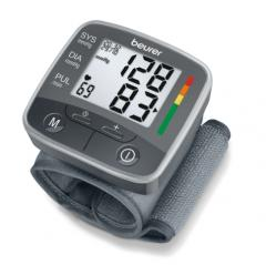 Beurer BC 32 Wrist blood pressure monitor; risk indicator; arrhythmia detection; morning and evening