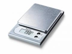 Beurer KS 22 kitchen scale; Stainless steel weighing surface; 3 kg / 1 g