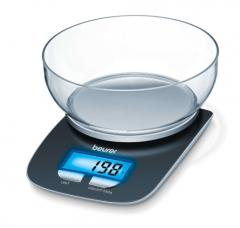 Beurer KS 25 kitchen scale; Bowl with 1.2 litre capacity;3 kg / 1 g