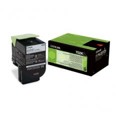 Lexmark 702K Black Return Program Toner Cartridge