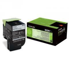 Lexmark 802K Black Return Program Toner Cartridge