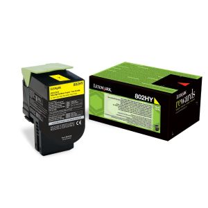 """Lexmark Gift 10%"" + Special price for stock! Yellow High Yield Return Program Toner Cartridge"