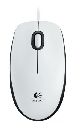 Logitech Mouse M100 White