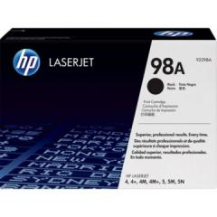 Консуматив HP 98A Black LaserJet Toner Cartridge