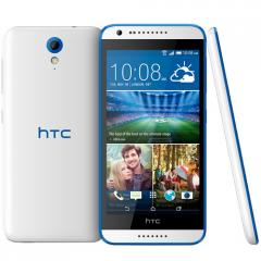 HTC Desire 620G dual sim Gloss White/Blue Trim /5.0 HD 720 (1280 x 720)/Cortex-A7  Octo-Core