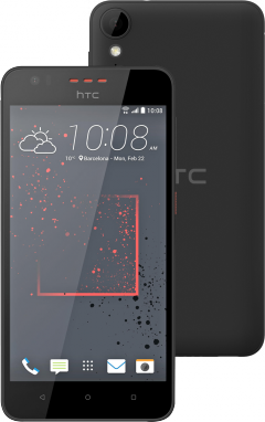 HTC Desire 825 Graphite Gray/5.5 HD/Gorilla Glass/Quad-core 1.6 GHz Cortex-A7/16GB/2GB/microSD/Cam.