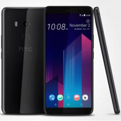 "CLEARANCE! HTC U11+ (128Gb/IP68) Ceramic Black Dual Sim/6.0""/2К+ 1440x2560/18:9/Super"