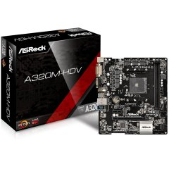 ASROCK Main Board Desktop AM4 A320