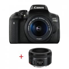 Canon EOS 750D LOW LIGHT KIT (EF-S 18-55 IS STM + EF 50mm f/1.8 STM)