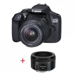 Canon EOS 1300D PORTRAIT KIT (EF-s 18-55 mm DC III + EF 50mm f/1.8 STM) + DSLR ENTRY Accessory Kit
