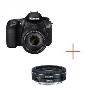 Canon EOS 60D + EF–s 18-135 mm f/3.5-5.6 IS STM + EF 40mm f/2.8 STM