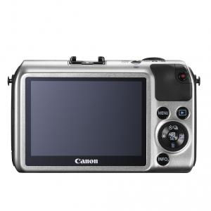 Canon EOS-M silver 18-55IS STM