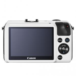 Canon EOS-M white 18-55IS STM