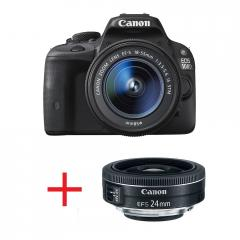 Canon EOS 100D + EF-s 18-55 IS STM + карта Toshiba SD 8GB Wi-fi + Canon LENS EF-S 24mm f/2.8