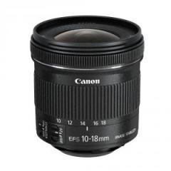 Canon LENS EF-S 10-18mm f/4.5-5.6 IS STM