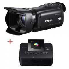 Canon LEGRIA HF G25 Wireless Kit + Canon SELPHY CP910 white